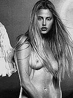 Estella Warren sexy, see through and topless