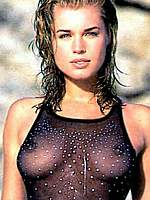 Rebecca Romijn sexy, see thru and topless