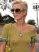 Paris Hilton see through & pokies paparazi shots