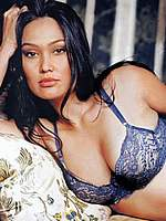 Tia Carrere in various sexy lingerie