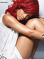 Rihanna sexy posing scans from some magazines