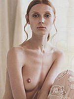 Olga Sherer sexy and topless posing scans