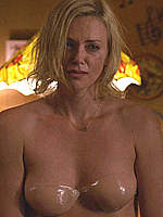 Charlize Theron sexy scenes from Young Adult