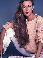 Jane Seymour sexy posing magazines photos