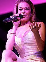 LeAnn Rimes performs in tight short dress