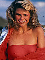 Christie Brinkley sexy and see through photos