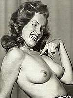 Marilyn Monroe topless black-and-white pictures
