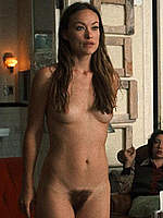 Olivia Wilde fully nude scenes from Vinyl