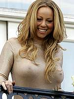 Mariah Carey sexy and see through photos