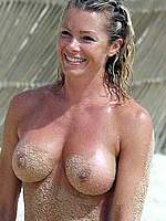 Nell McAndrew sexy scans & nude on a beach