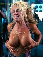 Jenny McCarthy showing her boobs in