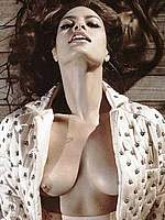 Eva Mendes topless in Italian Vogue photoset