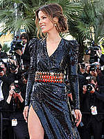 Kate Beckinsale long legs at Cannes redcarpet