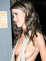 Nicola Tappenden topless and boob pops out