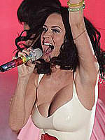 Katy Perry sexy performs at Radio 1 awards