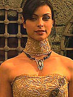 Morena Baccarin sexy in scenes from Star Gate