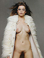 Abbey Lee Kershaw sesy, topless & fully nude