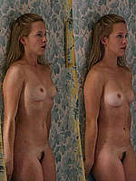 Capucine Delaby completely naked in tv series