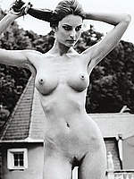 Reka Ebergenyi sexy, topless and fully nude