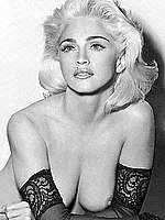 Madonna sexy, see through and topless scans